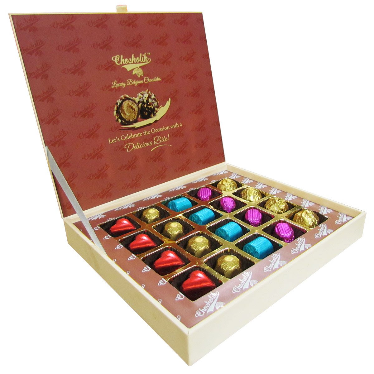 Best Price of Rakhi Chocolate Box - 20pc + Free Rakhi