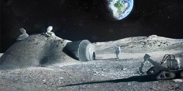 Manusia Bakal Mampu Mendirikan Rumah di Bulan