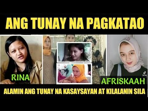 ANG TUNAY NA PAGKATAO NG INDONESIAN GIRL (RINA) AT (AFRISKAAH) STORY NA NAG VIRAL SA SOCIAL MEDIA