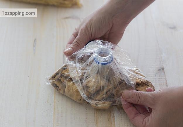 Como hacer un cierre hermético casero para bolsas de plástico.