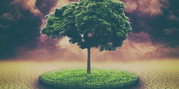 Ilustración digital del calentamiento global ©BELGA_EASYFOTOSTOCK.