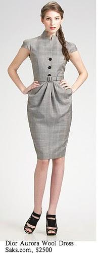 Saks.com - Dior - Aurora Wool Dress