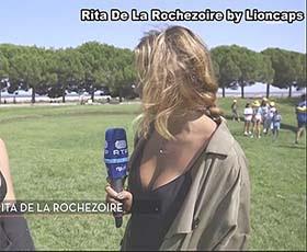 Rita de La Rochezoire a belissima reporter da Rtp