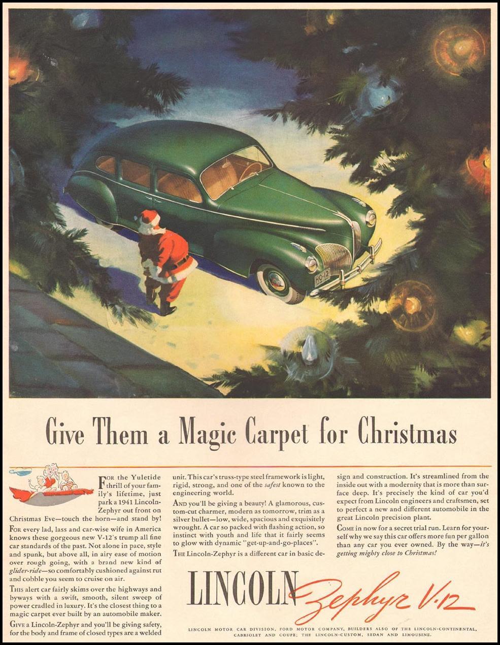LINCOLN AUTOMOBILES LIFE 12/16/1940 p. 6