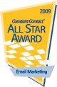 2009 Constant Contact All-Star Award