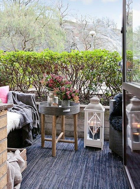 Der Balkon - unser kleines Wohnzimmer im Sommer - fresHouse