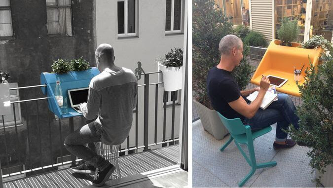 Balcony Office mod