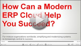 Animated Infographic: How Can a Modern ERP Cloud Help You Succeed?