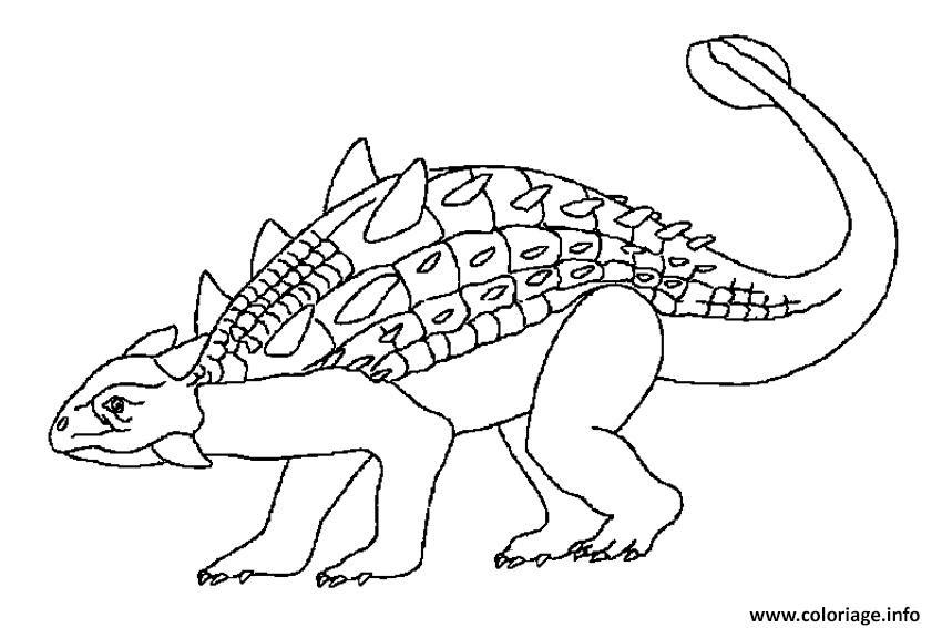 Coloriage Jurassic World Park à Imprimer