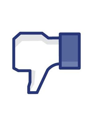 Não curti no Facebook (Foto: Internet/Reprodução)