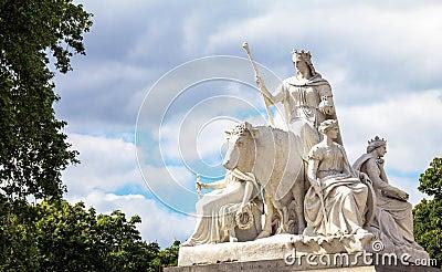 allegorical sculpture europe patrick macdowell representing continent asia prince albert memorial near kensington gardens 63174775