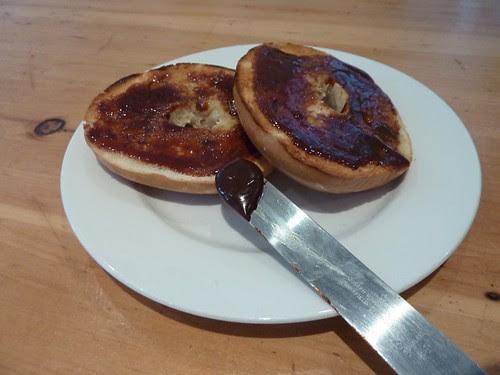 Marmite Bagel