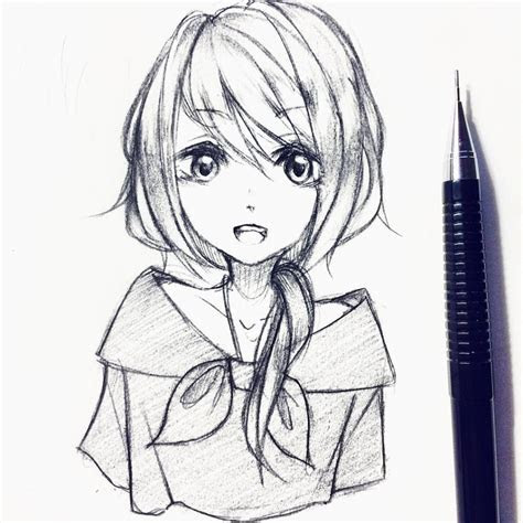 anime sketch pencil  paintingvalleycom explore