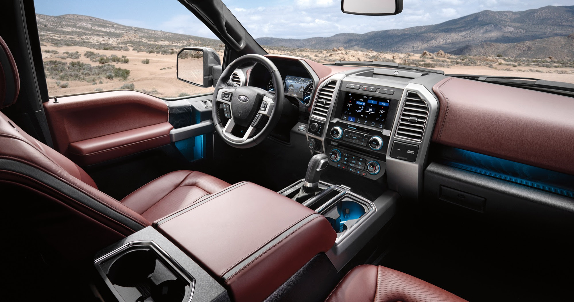 Next Gen Ford F 150 To Get A Wide Center Screen