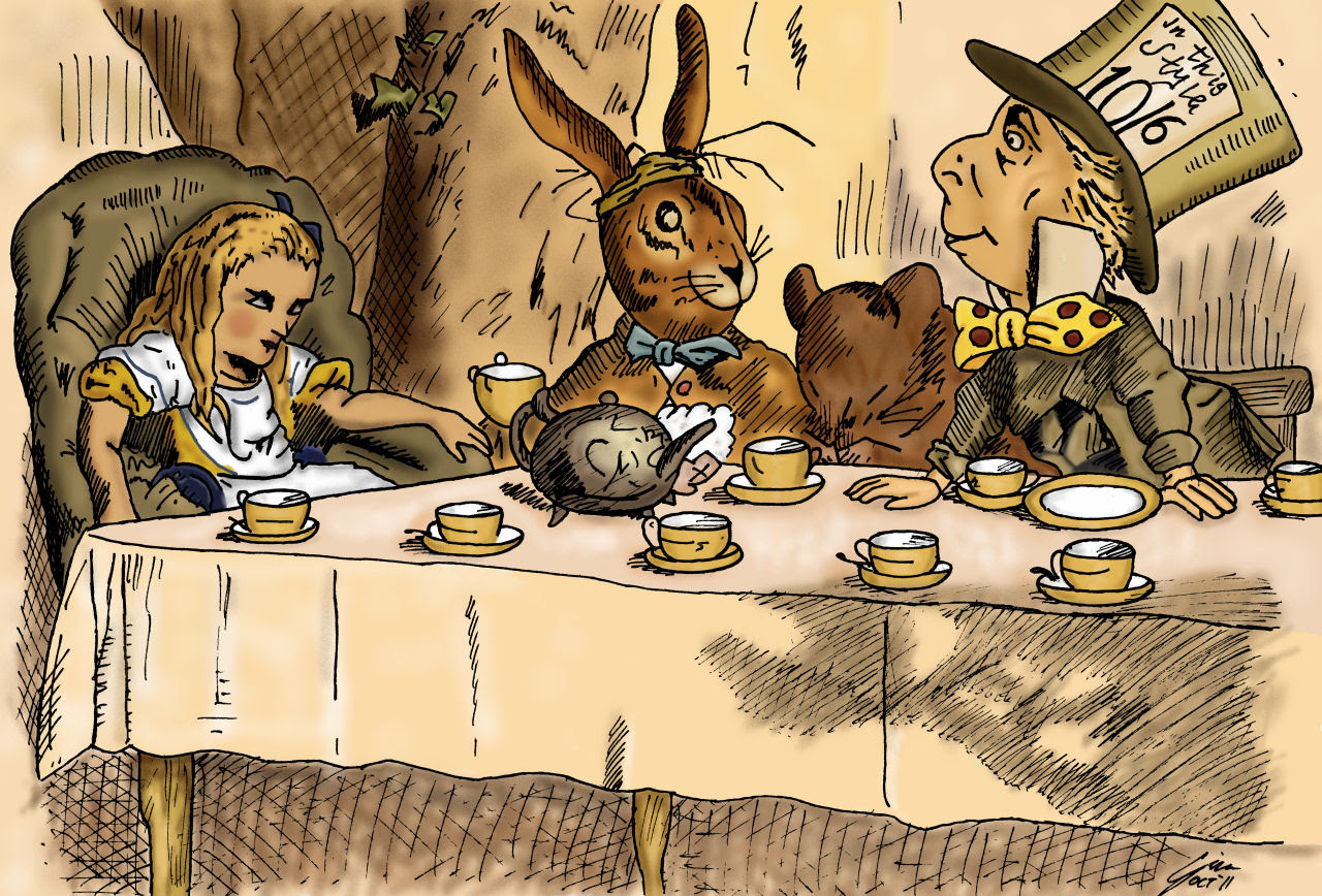 Free Mad Hatter Tea Party Download Free Clip Art Free Clip Art On
