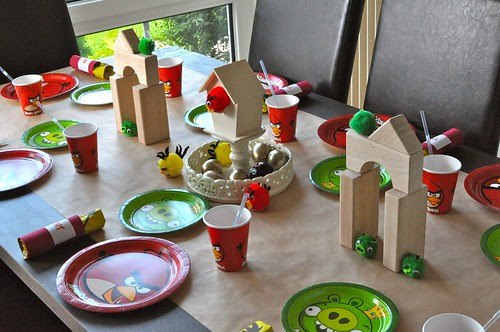 Angry Birds Table Setting