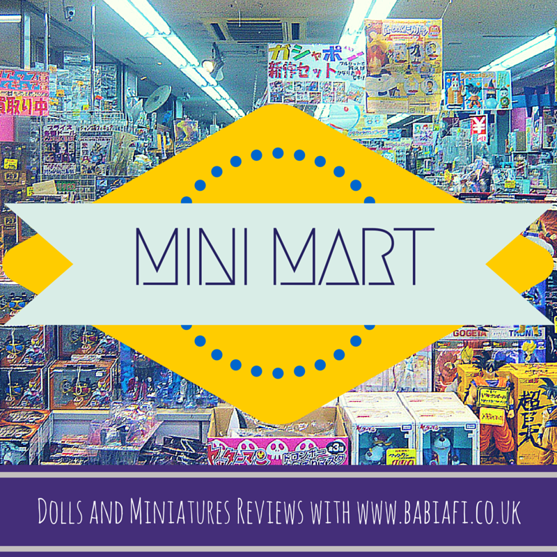 Mini Mart - Dolls and Miniatures Reviews with www.babiafi.co.uk
