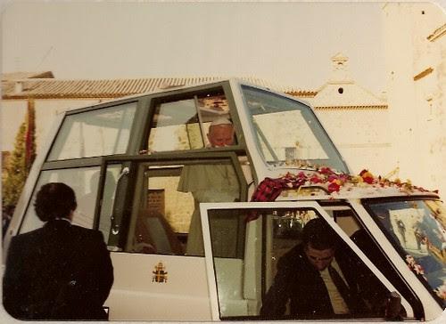 El Papa Juan Pablo II en Toledo. Día 4 de Noviembre de 1982