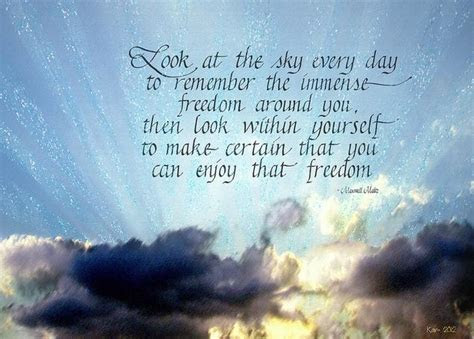Looking To The Sky Quotes