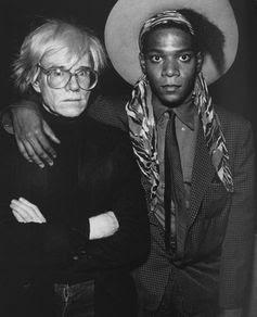 Andy Warhol & Jean Michael Basquait