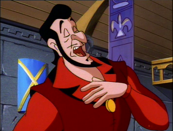 Frollo singing, The Secret of the Hunchback, picture image