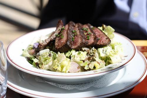 Steak Salad at Bouchon