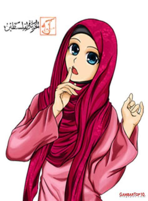muslimah bawa panah gambar muslimah cantik gambar muslimah