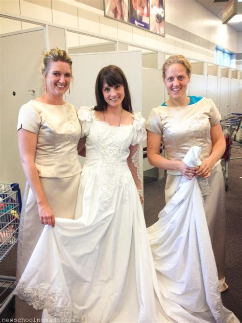 Thrift Store Wedding Dress Provo UT   Newschool Nomads