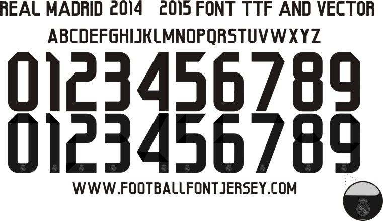 Real Madrid Font Download Free