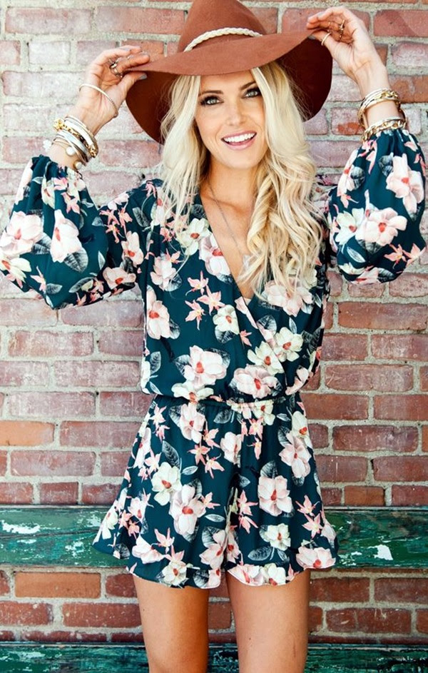 spread some charm with 30 lovely romper outfit ideas