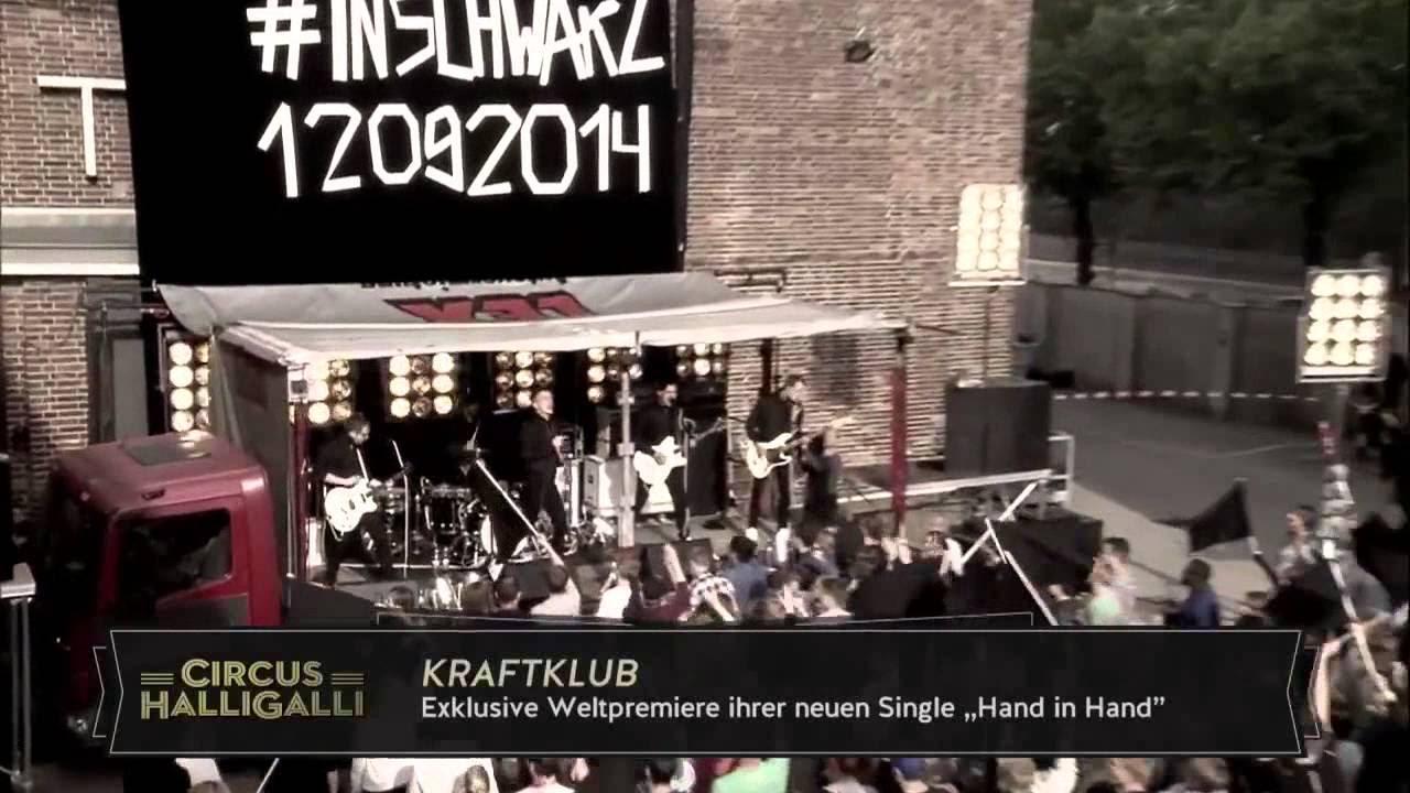 KRAFTKLUB - HAND IN HAND | LIVE @ CIRCUS HALLIGALLI - YouTube