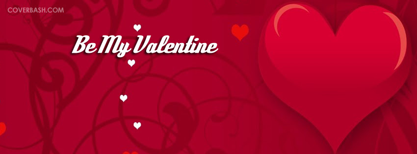 Be My Valentine Facebook Cover Coverbashcom
