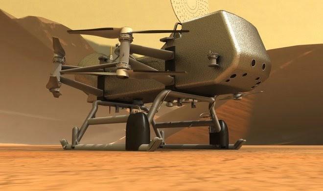 Через пять лет аппарат Dragonfly отправится искать жизнь на Титане
