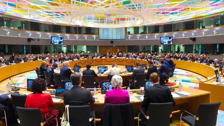 Η αίθουσα συνεδριάσεων της Ευρωπαϊκής Ένωσης. Copyright: European Union