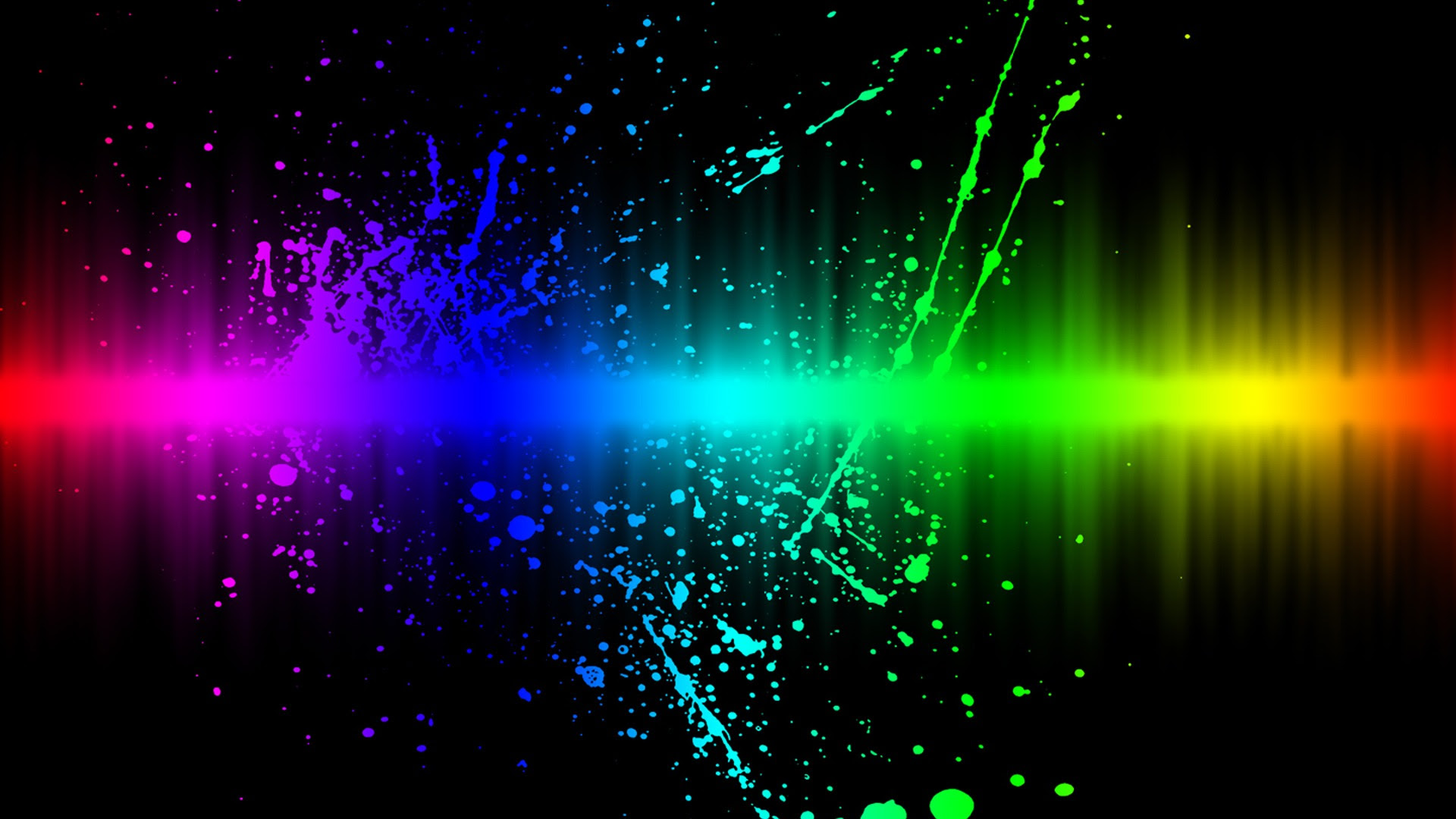 colors explosion wallpaper abstract 3d