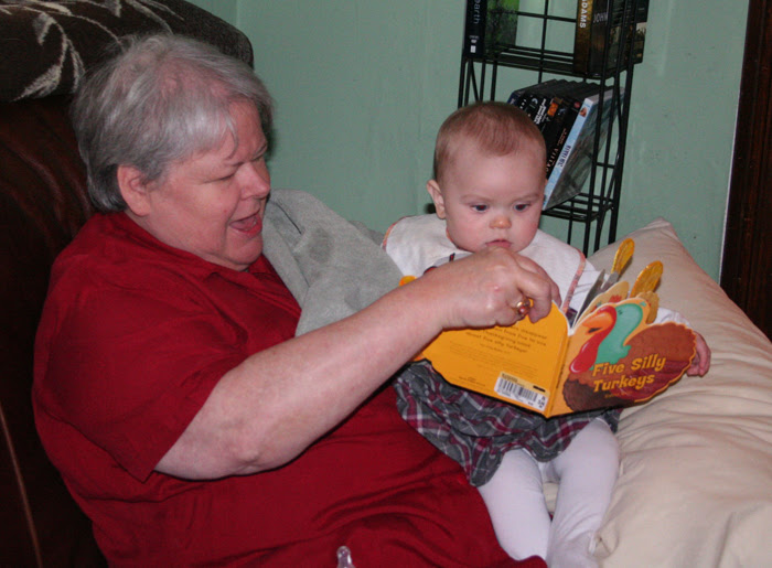 Reading with Nana