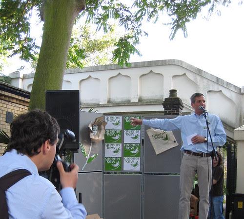 Michael Glazebrook - Greener Kew Launch Party - Kew Gardens Station