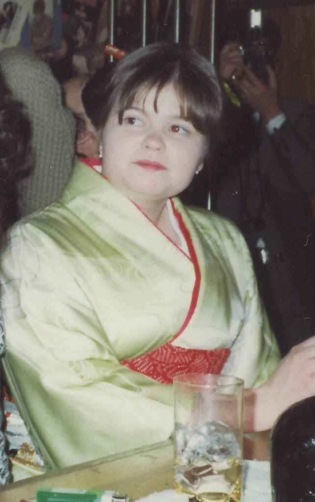 Anna age 23 in kimono