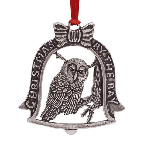 Salisbury Christmas by the Bay Ornament 2017   Silver