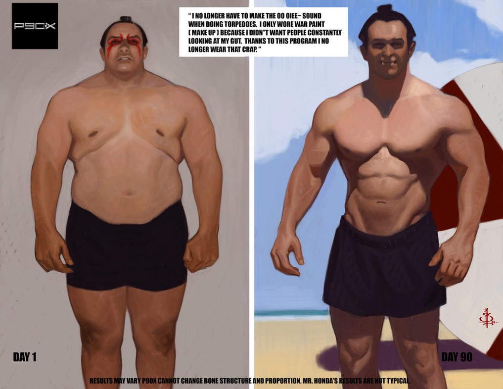 Workout Pictures Before And After, Before    - Dave J