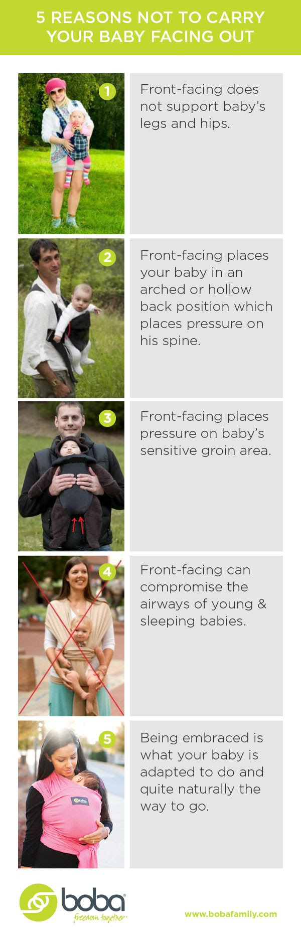 Nine Reasons Not To Wear Your Baby Forward Facing #babywearing
