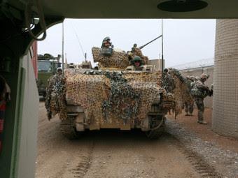M113 ВС Дании. Фото с сайта militaryphotos.net