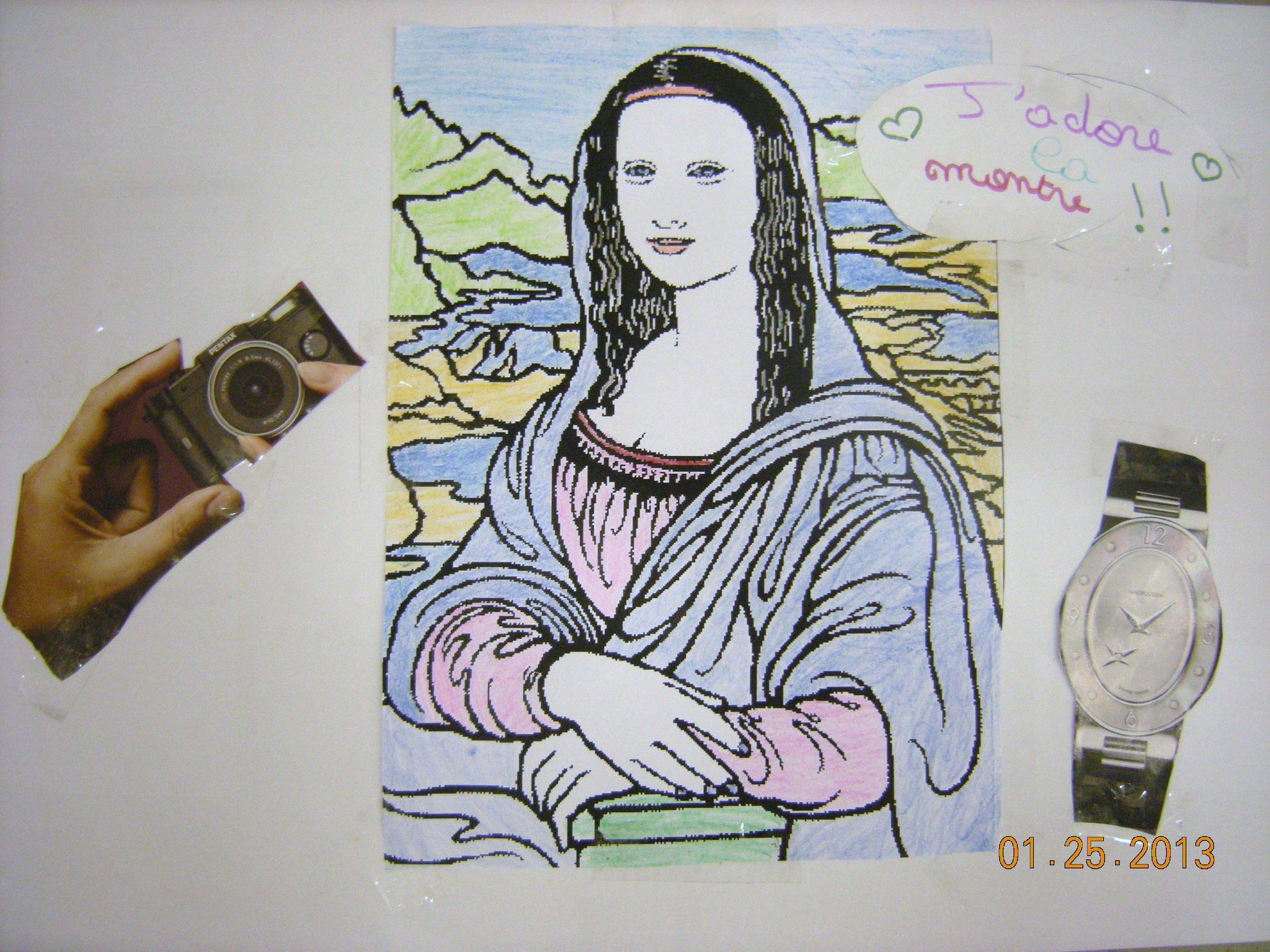 Au XXIe si¨cle la Joconde est devenue l objet d art le plus visité au monde avec 20 000 visiteurs qui viennent l admirer quoti nnement