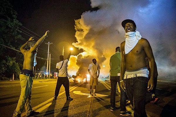 Riots in Ferguson, Missouri