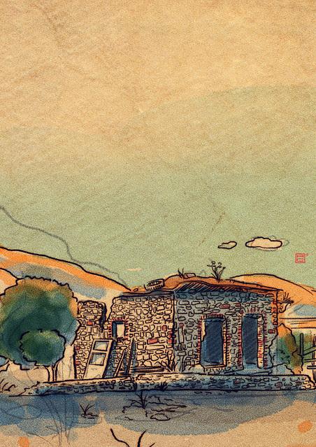 aegan village detail