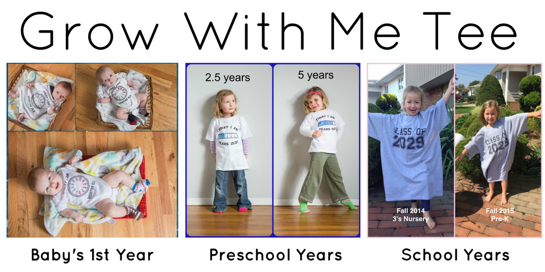 Grow With Me Tee - part of US Japan Fam's Back To School Bonanza!Picture