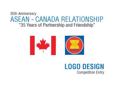 asean canada logo design contest entry  runner