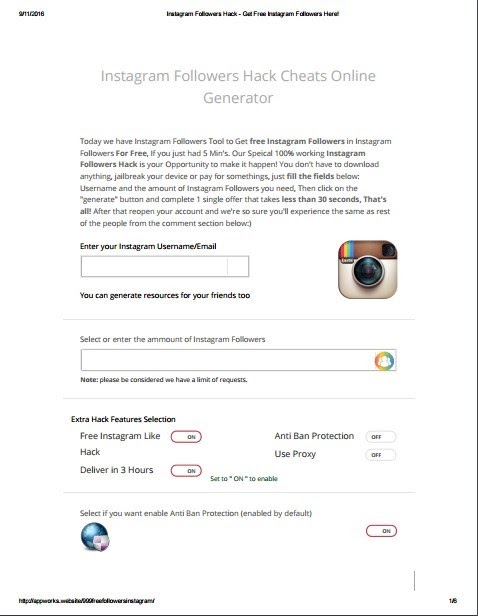 Free Instagram Followers Cydia Tweak - Do You Get Paid For Having