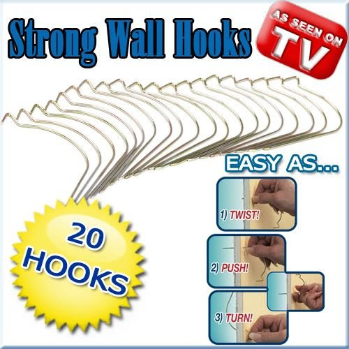 Mighty Incredible Hooks Brand Of Hercules Hooks As Seen On Tv On