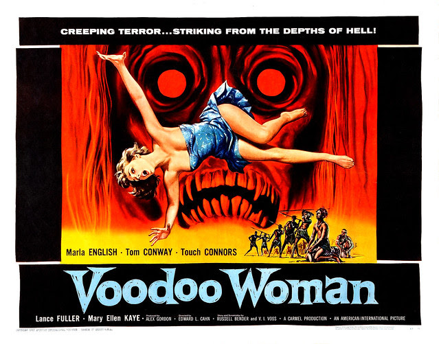 Albert Kallis - Voodoo Woman (American International, 1957) Half Sheet